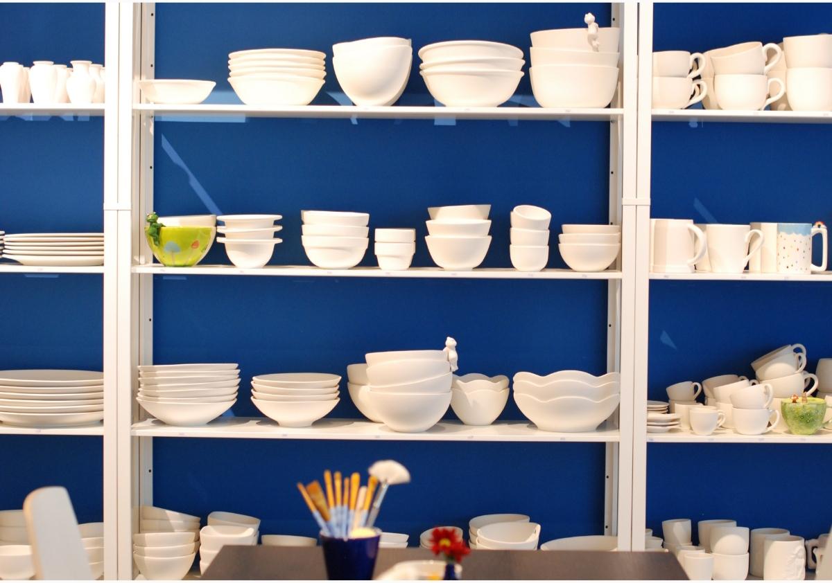 dipinto di blu Keramikmalstudio